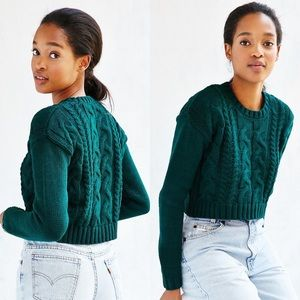 Urban Outfitters Lucca Couture Cropped Sweater